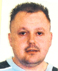 Levi Bellfield in 2007 aged 38yrs old - notice the similarity in the eyes compared to the police e-fit.