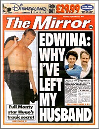 The Daily Mirror - 23rd September 1997
