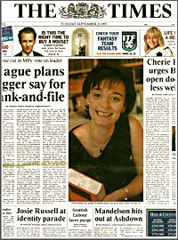 The Times - 23rd September 1997